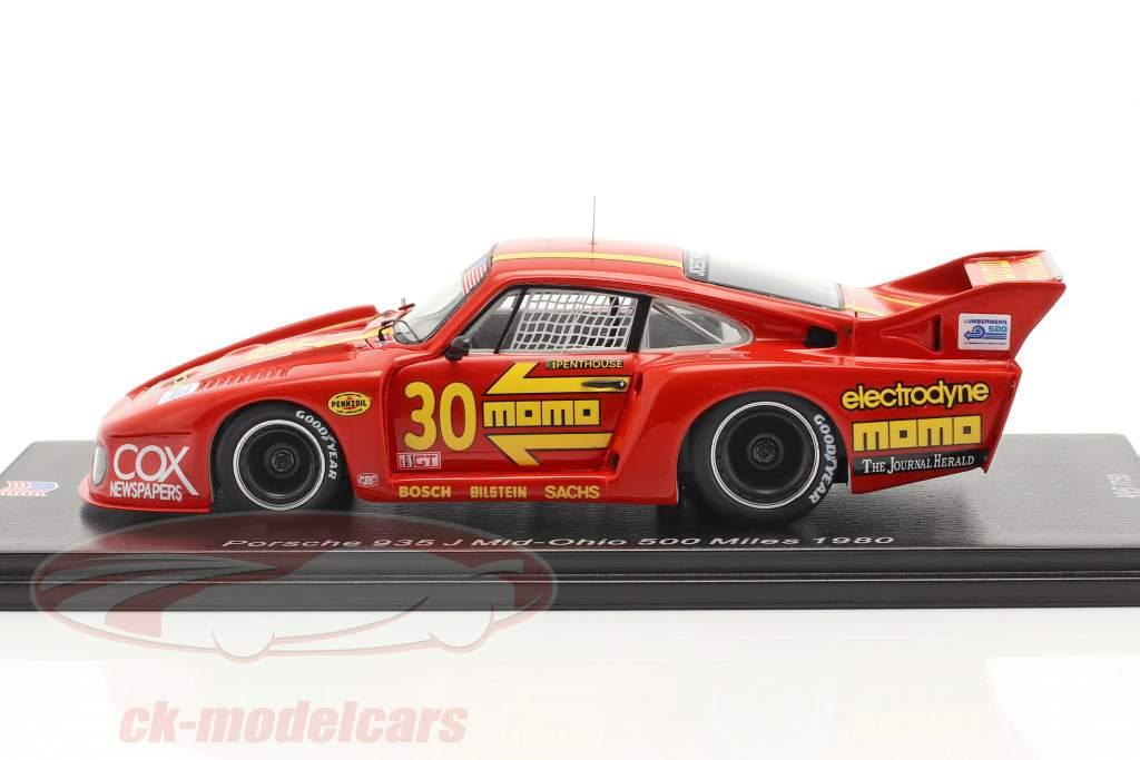Porsche 935 J #30 3 ° Mid-Ohio 500 Miles 1980 Moretti, Busby 1:43 Spark