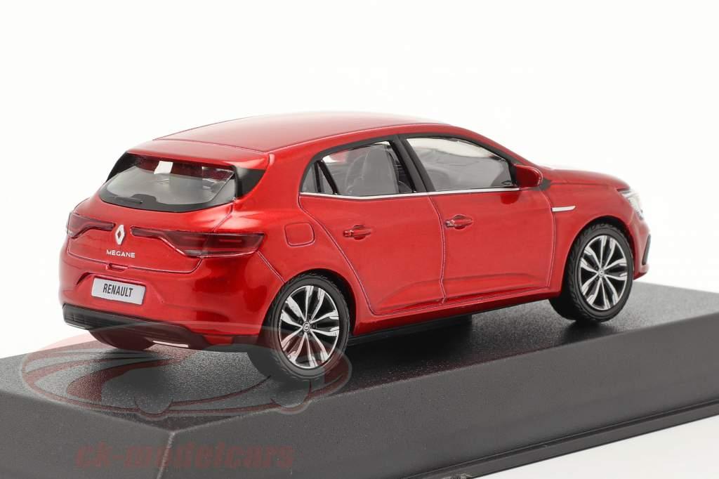 Renault Megane Byggeår 2020 flamme rød 1:43 Norev