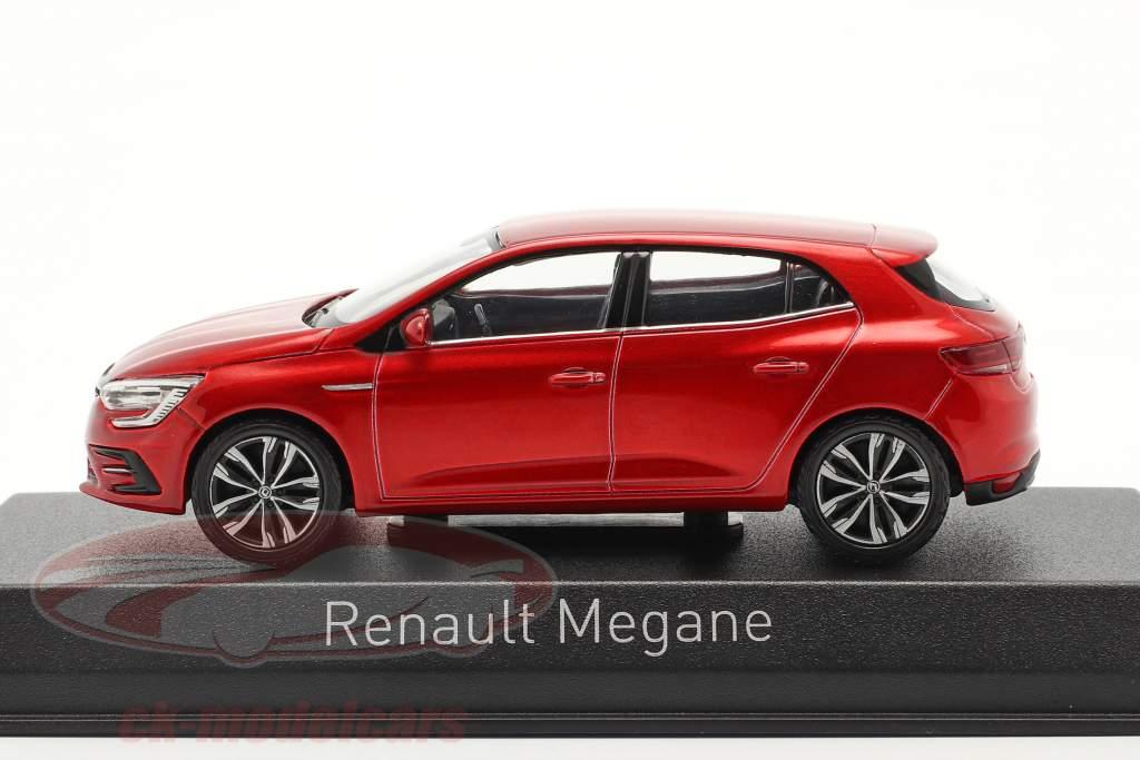 Renault Megane Bouwjaar 2020 vlam rood 1:43 Norev