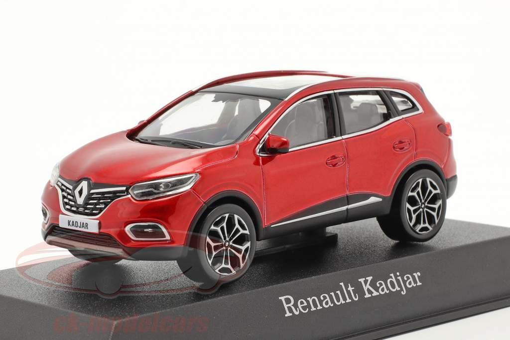 Renault Kadjar Año de construcción 2020 fuego rojo 1:43 Norev
