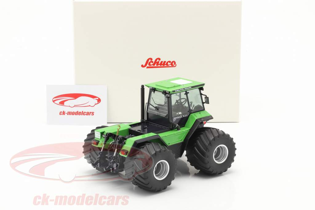 Deutz-Fahr Intrac 6.60 tractor Bouwjaar 1986-91 groen / zwart 1:32 Schuco