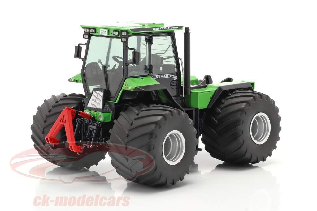Deutz-Fahr Intrac 6.60 Traktor Baujahr 1986-91 grün / schwarz 1:32 Schuco
