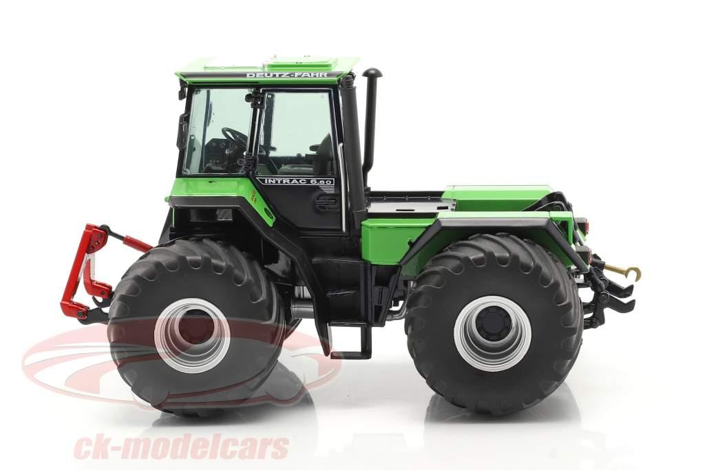 Deutz-Fahr Intrac 6.60 tractor year 1986-91 green / black 1:32 Schuco