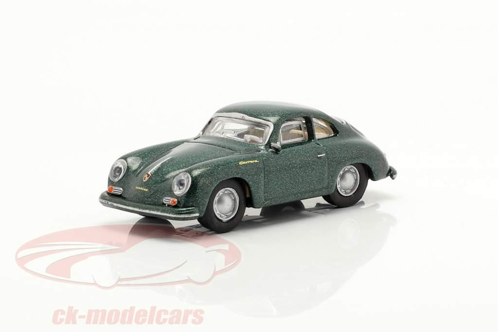 Porsche 356A Coupe dunkelgrün metallic 1:87 Schuco