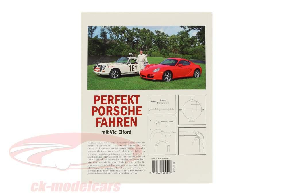 Livre: Conduite Porsche à la perfection Avec Vic Elford / Edition Porsche Fahrer