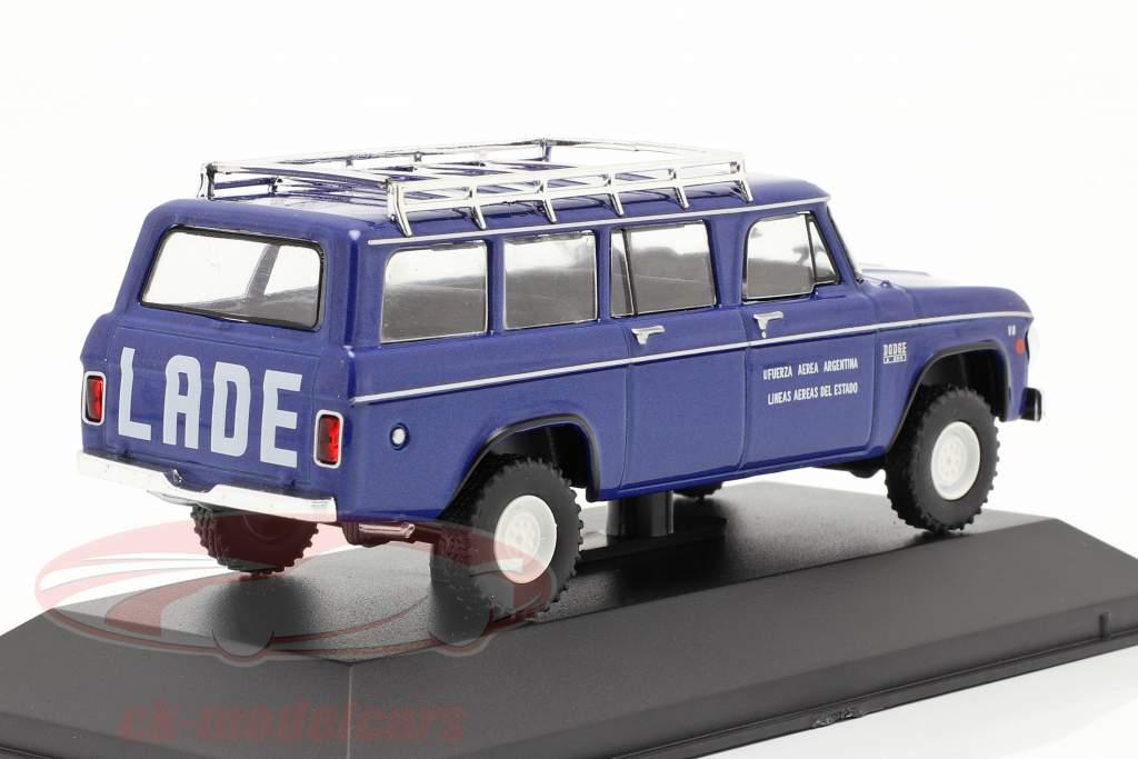 Dodge D-200 Estado CIA aérea Argentina 1972 azul 1:43 Altaya
