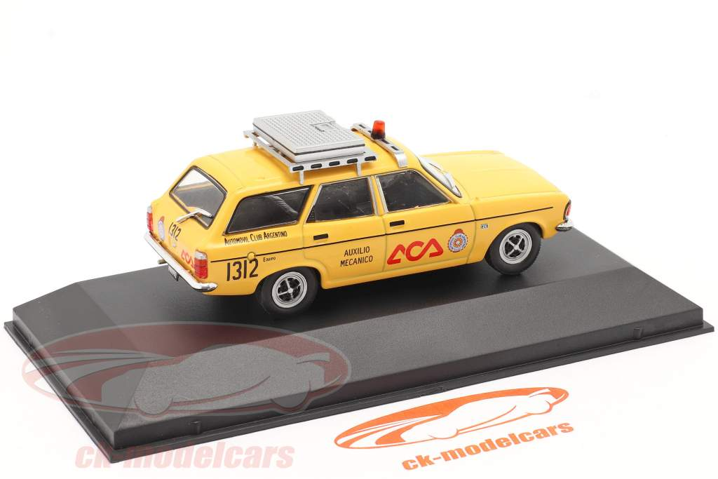Dodge 1500 Rural Automobile club Argentina 1978 yellow 1:43 Altaya