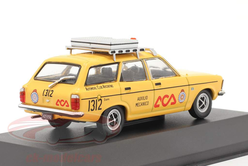 Dodge 1500 Rural Club automobile Argentine 1978 jaune 1:43 Altaya
