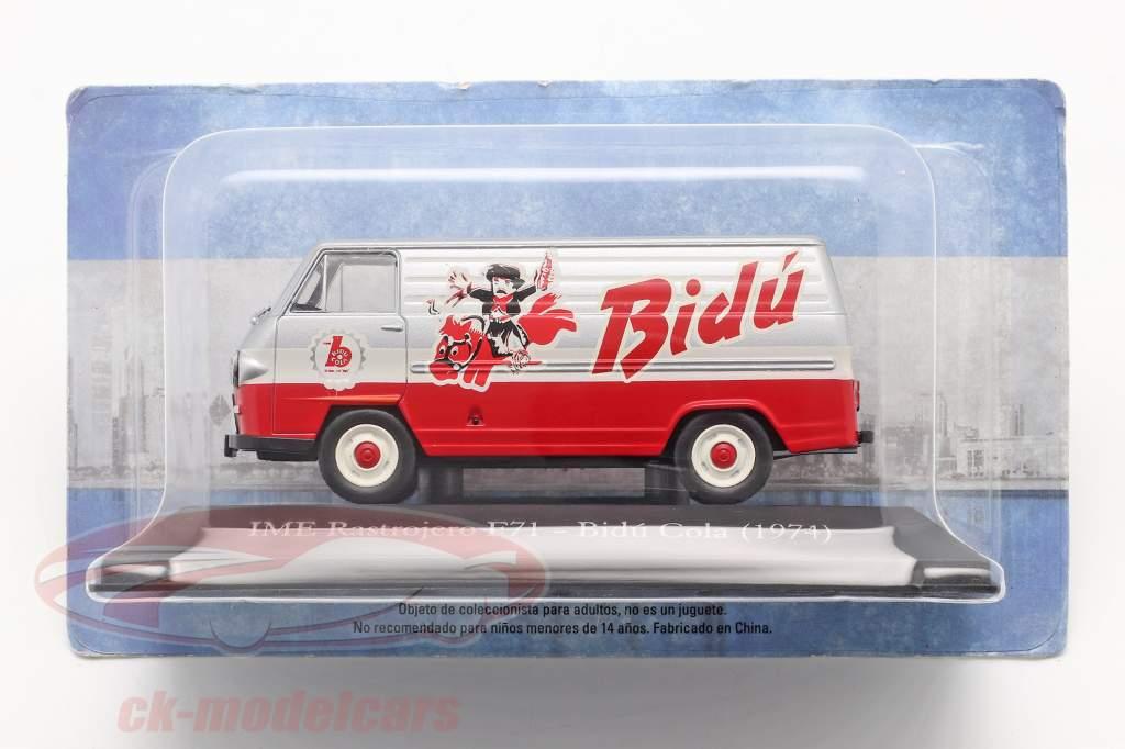 IME Rastrojero F71 Bidu Cola 1974 red / silver / white 1:43 Altaya
