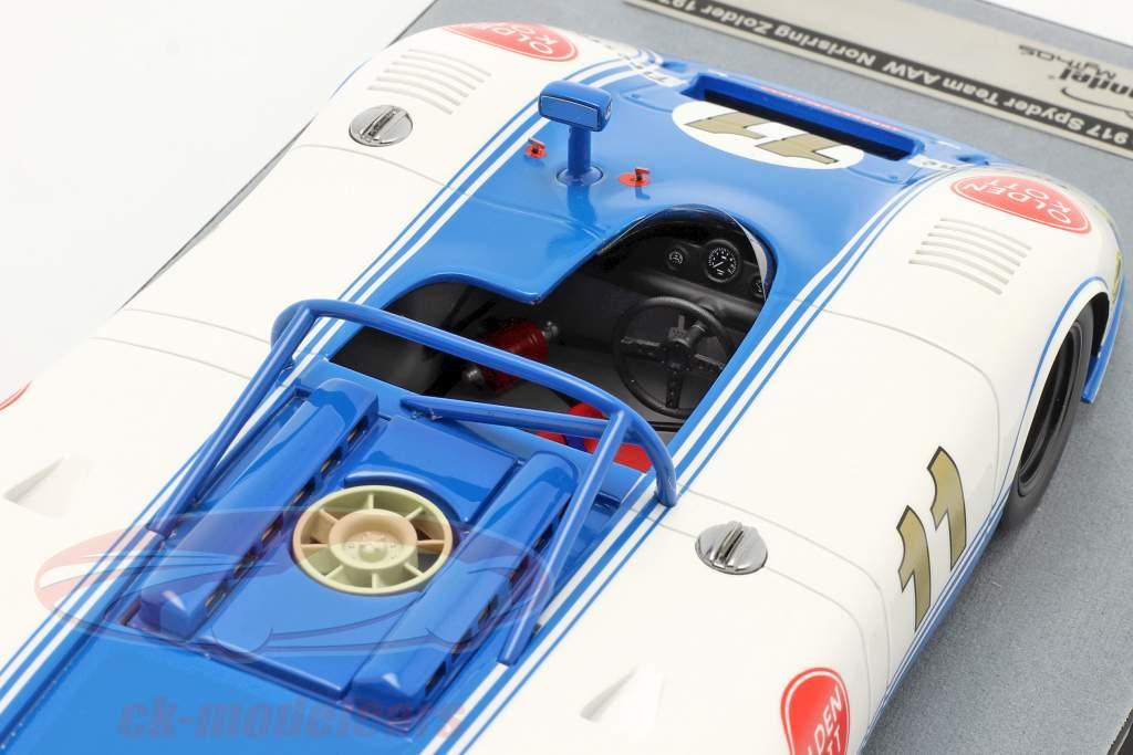Porsche 917 Spyder #11 2do Zolder Interserie 1971 Kinnunen 1:18 Tecnomodel