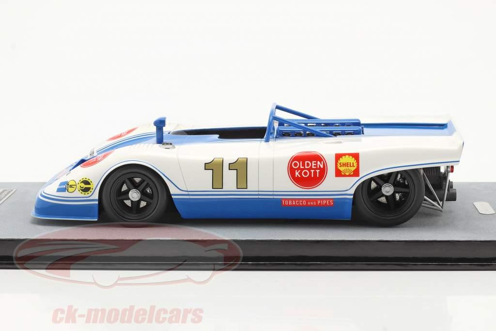 Porsche 917 Spyder #11 2. plads Zolder Interserie 1971 Kinnunen 1:18 Tecnomodel