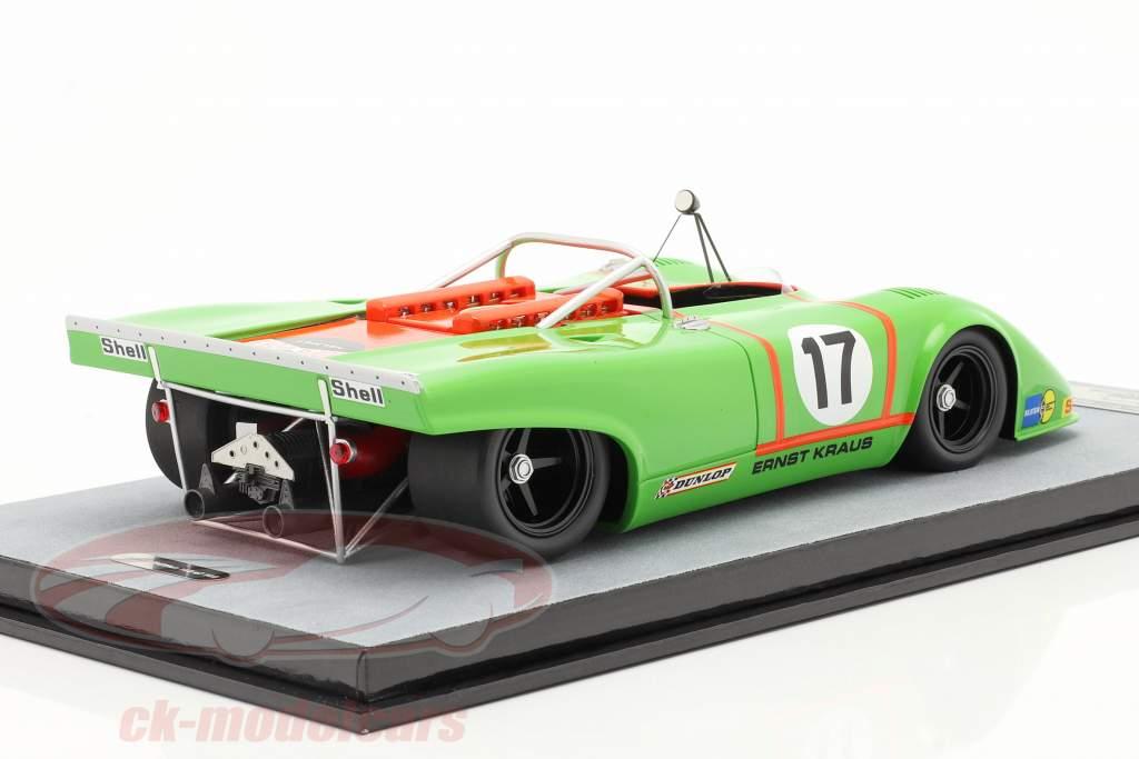 Porsche 917 Spyder #17 4th Silverstone Interserie 1972 Kraus 1:18 Tecnomodel