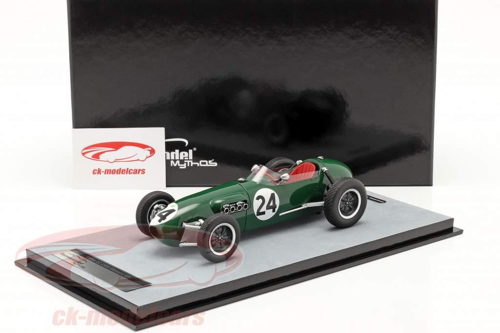 Cliff Allison Lotus 12 #24 Sexto Monaco GP fórmula 1 1958 1:18 Tecnomodel