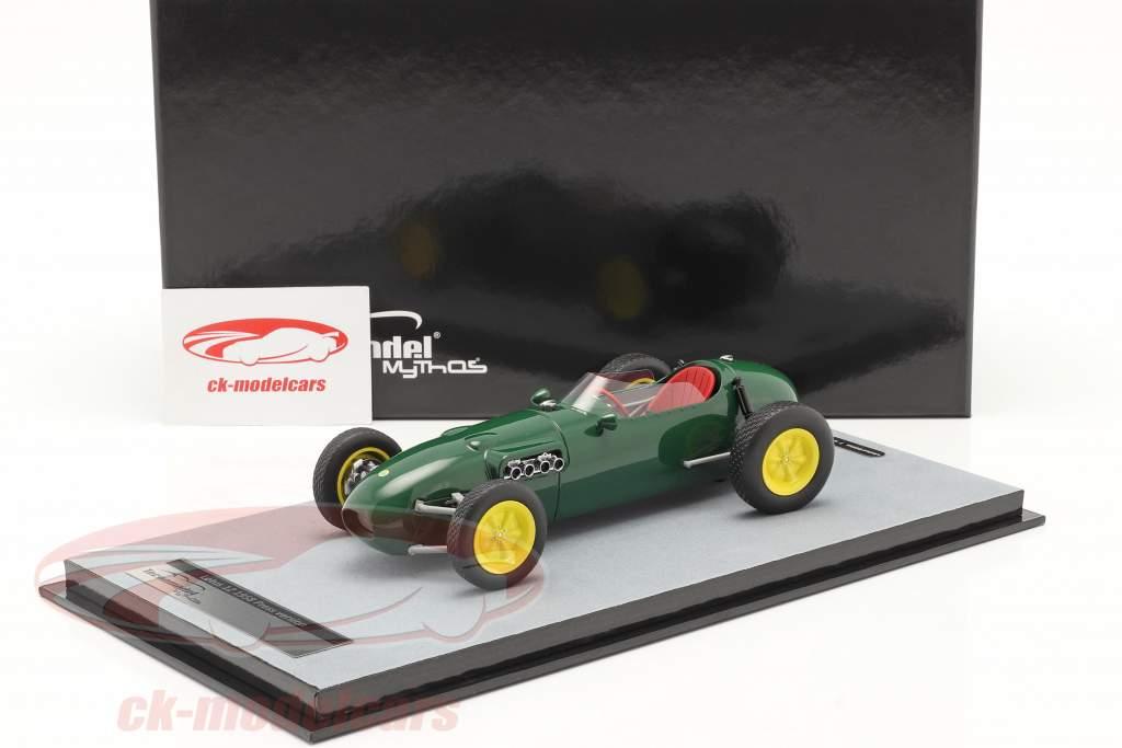 Lotus 12 Prensa versión 1958 británico carreras verde 1:18 Tecnomodel