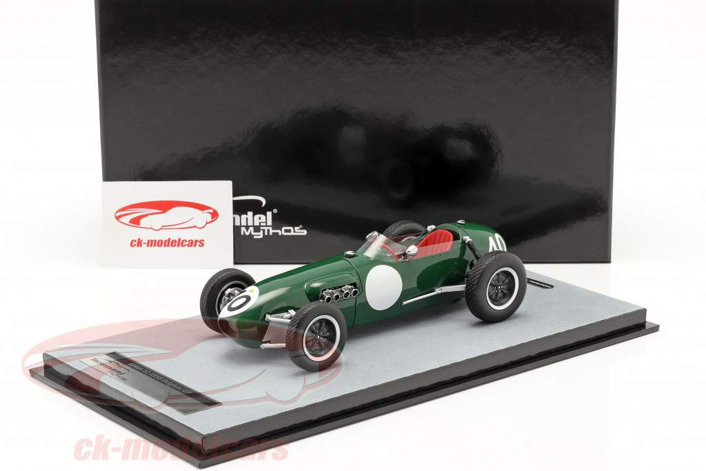 Cliff Allison Lotus 12 #40 4th Belgian GP formula 1 1958 1:18 Tecnomodel