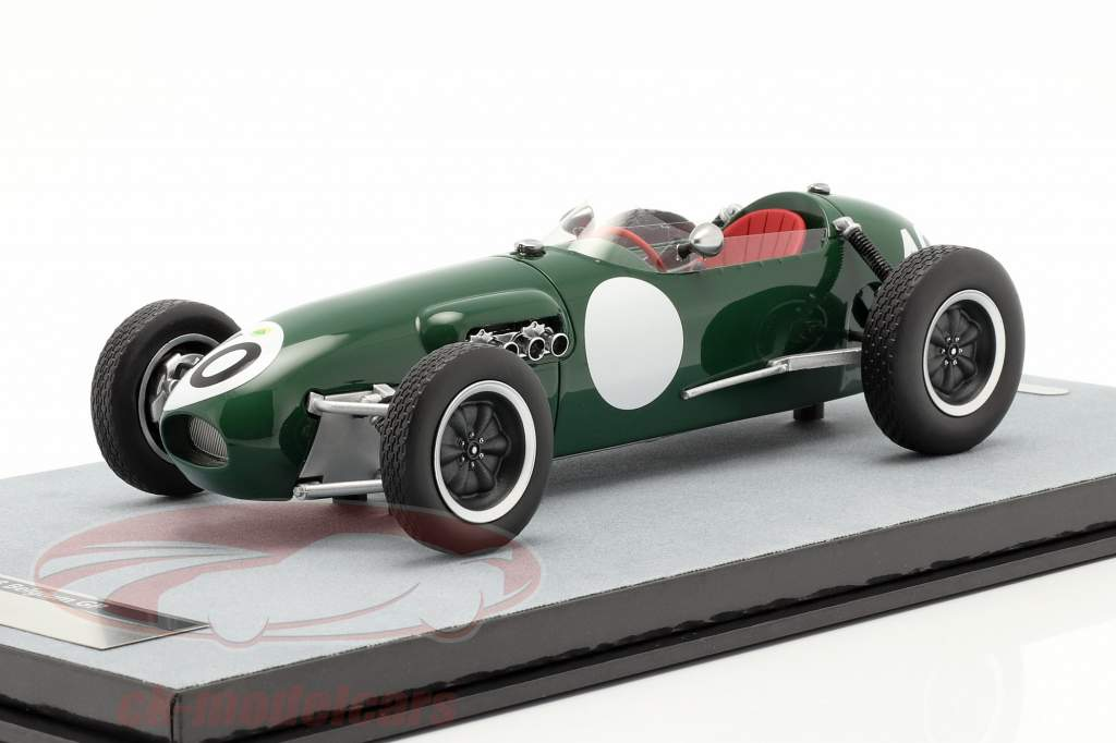 Cliff Allison Lotus 12 #40 4º Belga GP Fórmula 1 1958 1:18 Tecnomodel