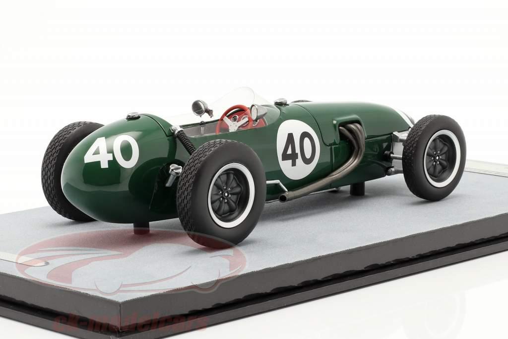 Cliff Allison Lotus 12 #40 Cuarto Belga GP fórmula 1 1958 1:18 Tecnomodelo