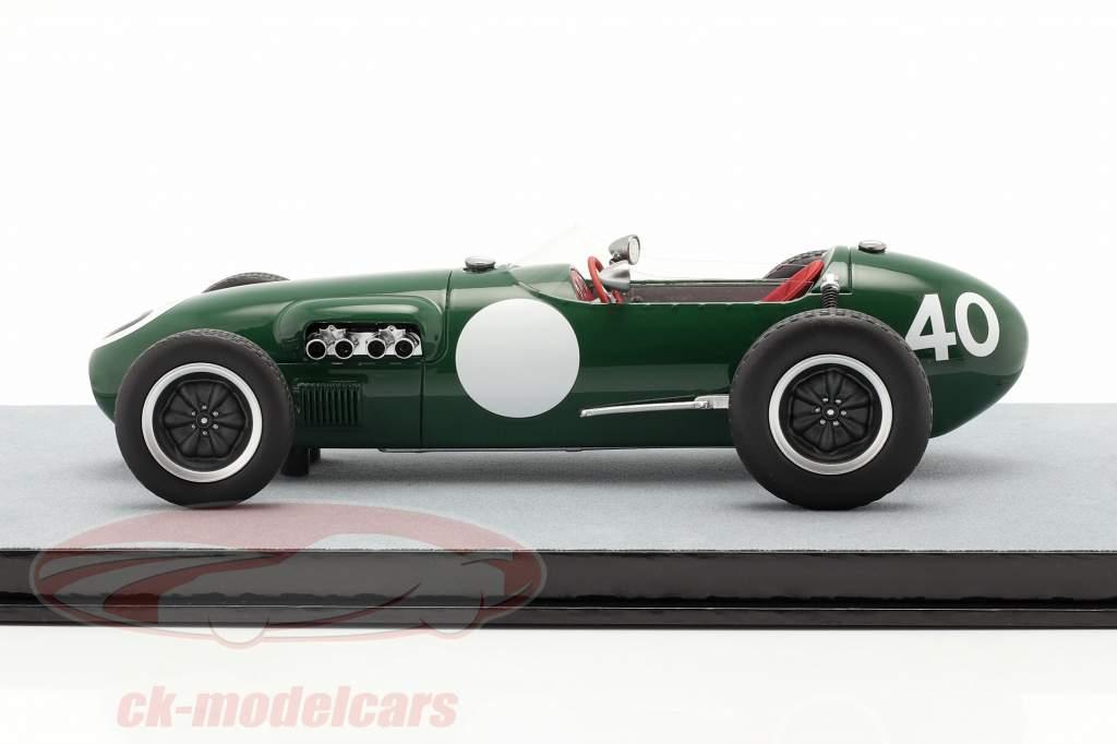 Cliff Allison Lotus 12 #40 4. plads Belgisk GP formel 1 1958 1:18 Tecnomodel