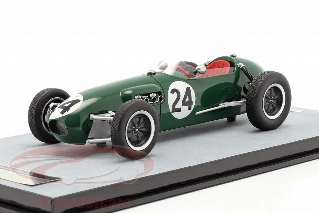 Cliff Allison Lotus 12 #24 6th Monaco GP Formel 1 1958 1:18 Tecnomodel