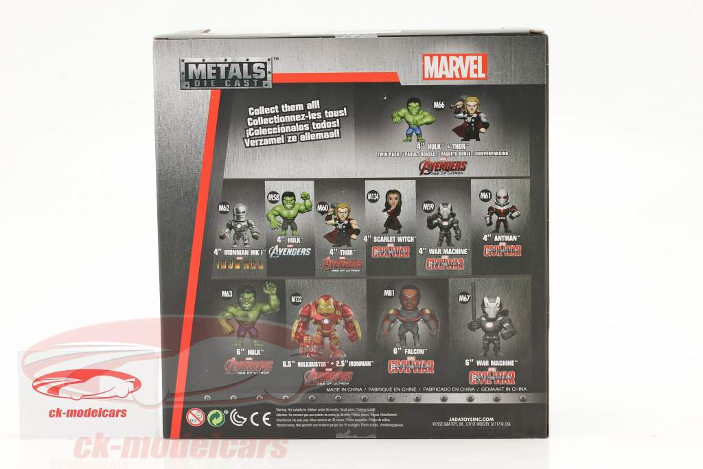 chiffre Hulk Marvel Avengers - Age of Ultron (2015) 6 inch Jada Toys