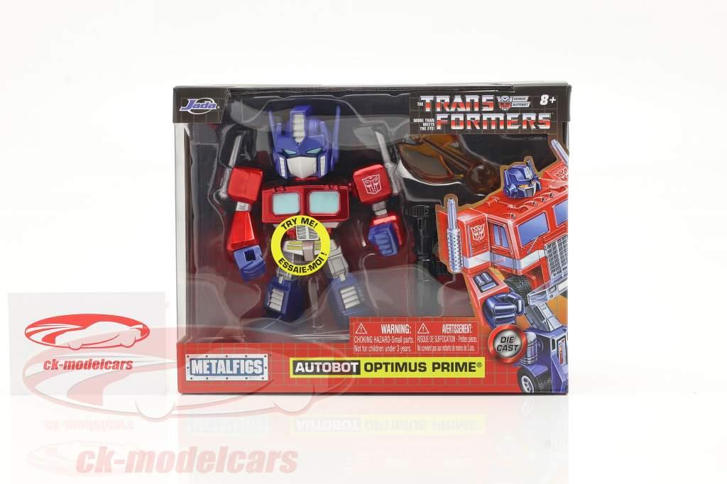 Autobot G1 Optimus Prime Film Transformers 4 inch Jada Toys