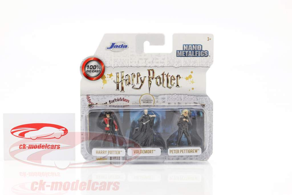 Harry Potter Set 3 tegn Jada Toys