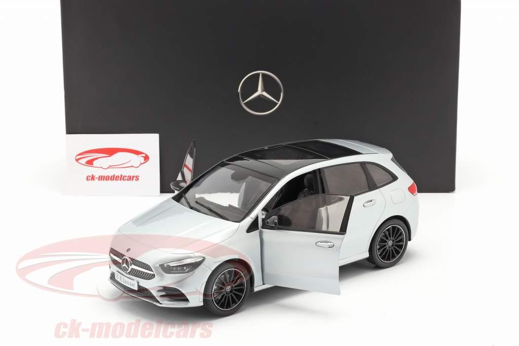 Mercedes-Benz B class (W247) year 2018 iridium silver 1:18 Z-Models