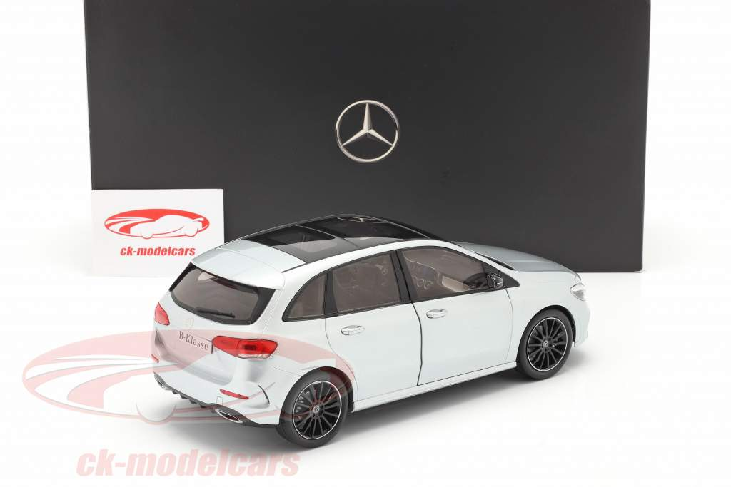 Mercedes-Benz Clase B (W247) Año de construcción 2018 plata de iridio 1:18 Z-Models