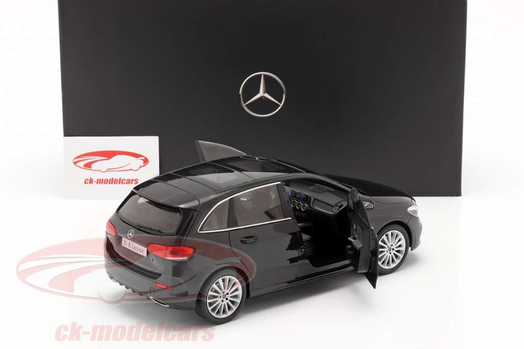 Mercedes-Benz Classe B (W247) Ano de construção 2018 cosmos preto 1:18 Z-Models