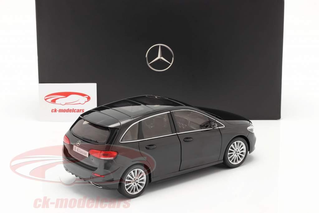 Mercedes-Benz Classe B (W247) Année de construction 2018 noir cosmos 1:18 Z-Models