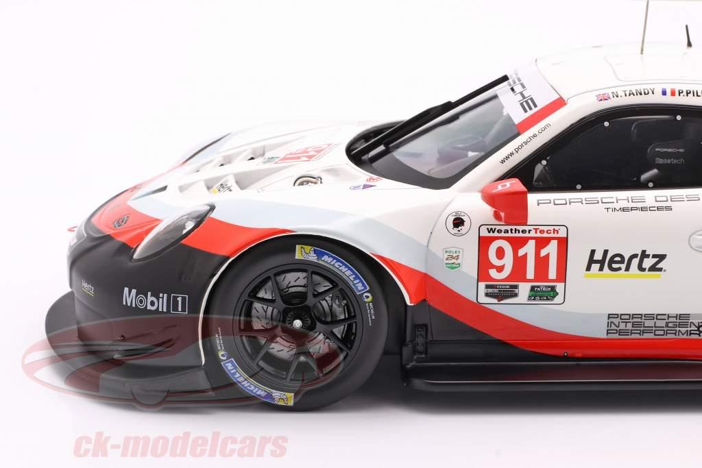 Porsche 911 (991) RSR #911 24h Daytona 2018 Porsche GT Team 1:18 Ixo