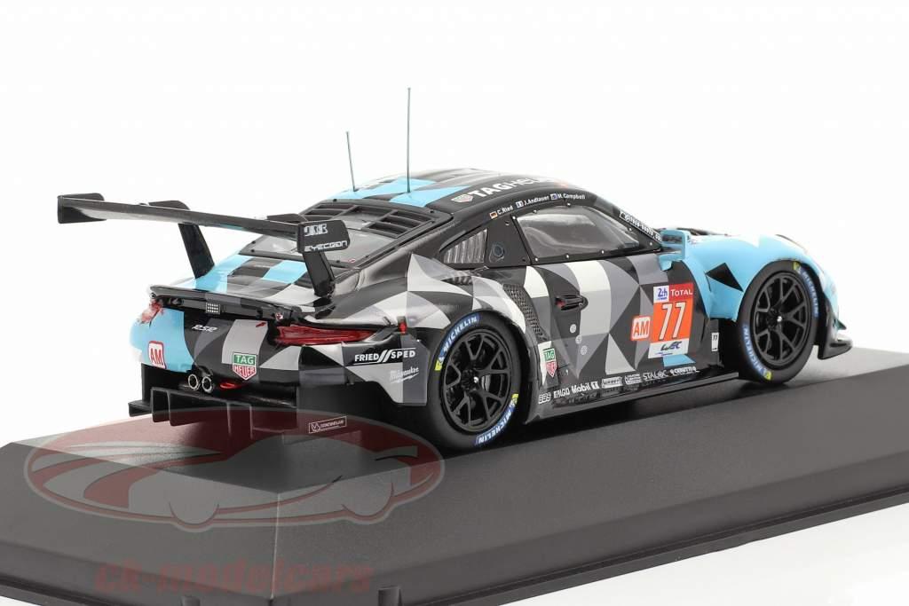 Porsche 911 (991) RSR #77 Sieger LMGTE Am 24h LeMans 2018 1:43 Ixo