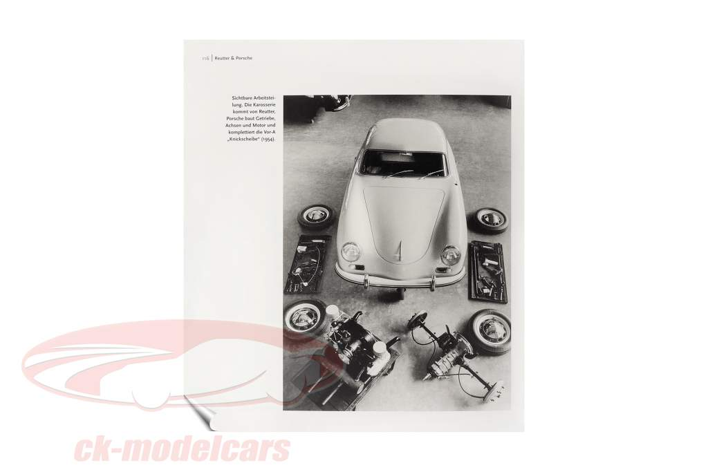 Livro: Porsche 356 a partir de Frank Jung (Alemão)