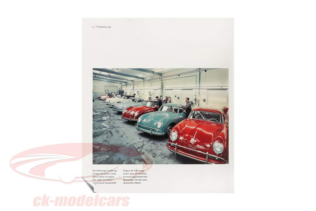 Livre: Porsche 356 de Frank Jung (Allemand)