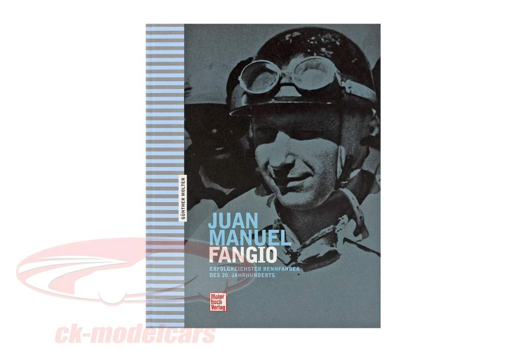 Libro: Juan Manuel Fangio di Günther Molter