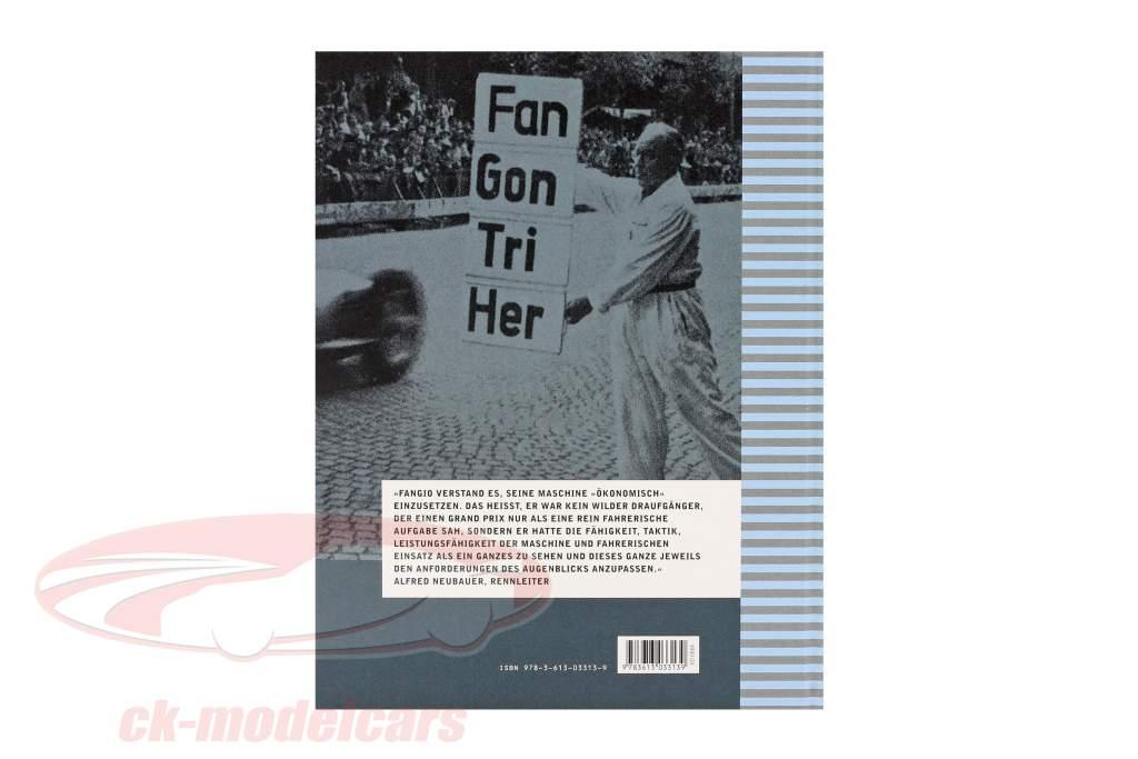 Boek: Juan Manuel Fangio door Günther Molter