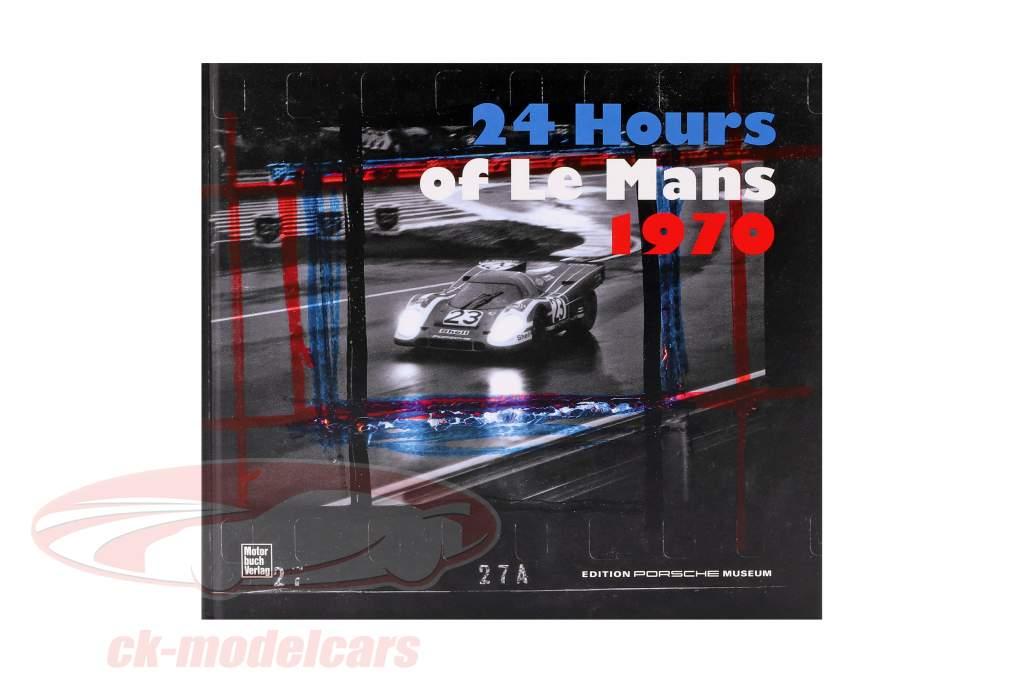 Libro: 24 Hours of LeMans 1970 / Edition Porsche Museum (Tedesco)