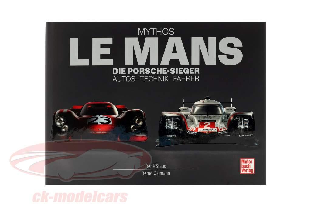 Boek: mythe LeMans - De Porsche-winnaars. auto's - technologie - bestuurder