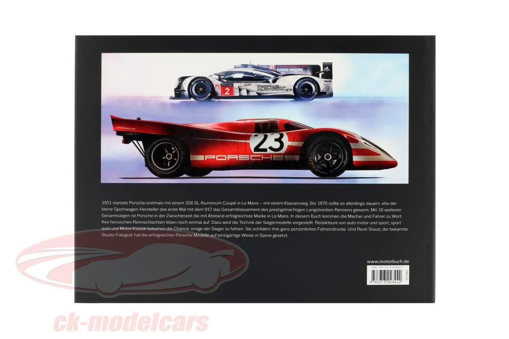 Libro: mito LeMans - los Ganadores de Porsche. carros - tecnología - conductor