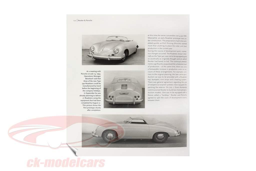 Livre: Porsche 356 de Frank Jung (Anglais)