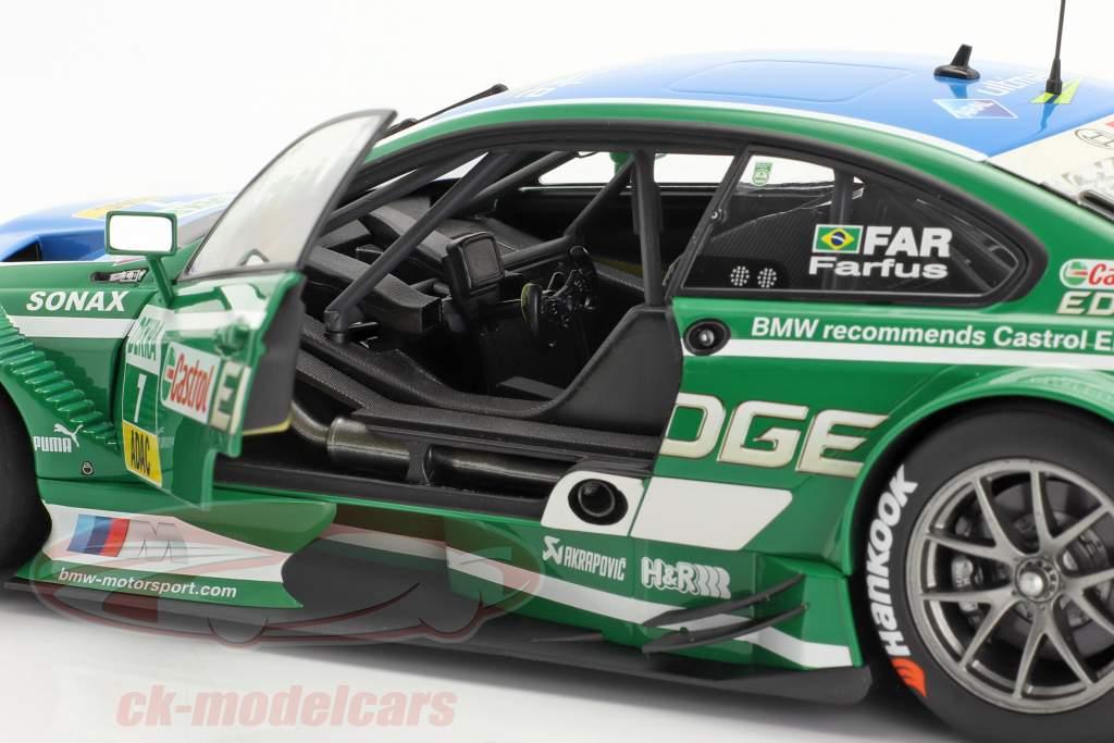 Augusto Farfus BMW M3 DTM #7 DTM 2013 Team RBM 1:18 Minichamps