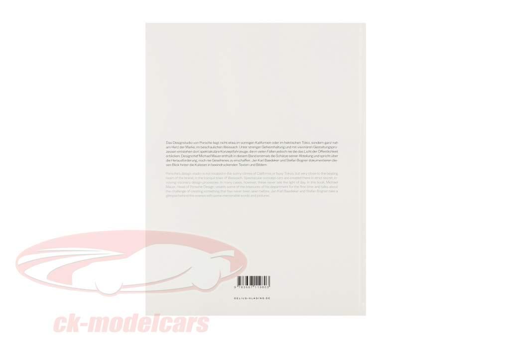 Boek: Porsche Ongezien - ontwerp Studies van Stefan Bogner