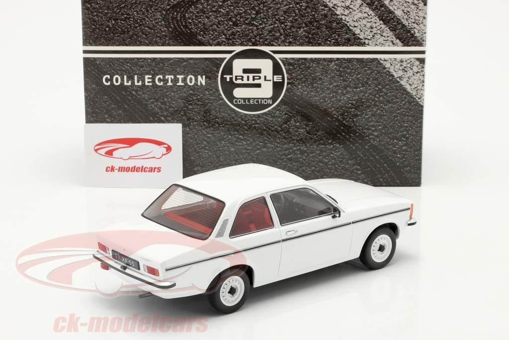 Opel Kadett C2 Year 1977 white 1:18 Triple9