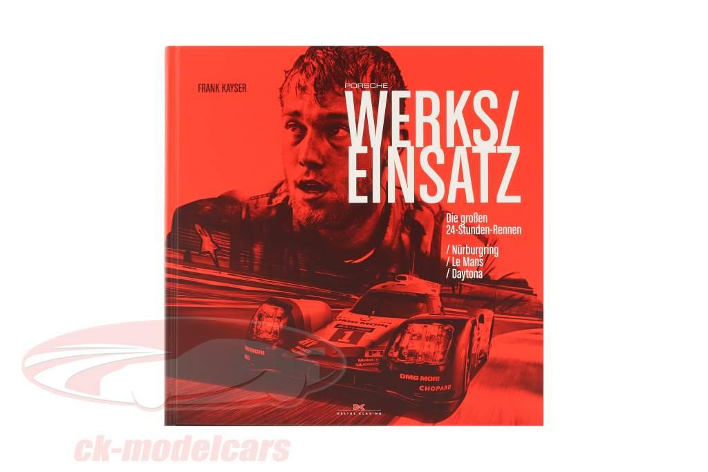Livro: Porsche Uso de fábrica a partir de Frank Kayser (Alemão)
