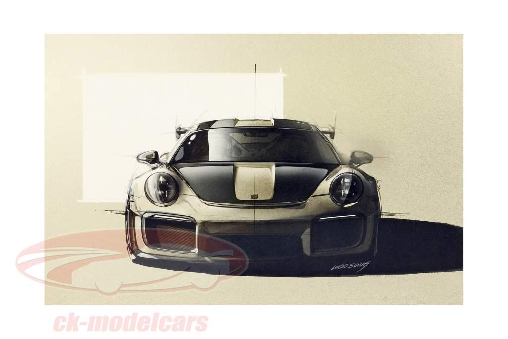 Buch: Designskizzen 911 von Michael Mauer