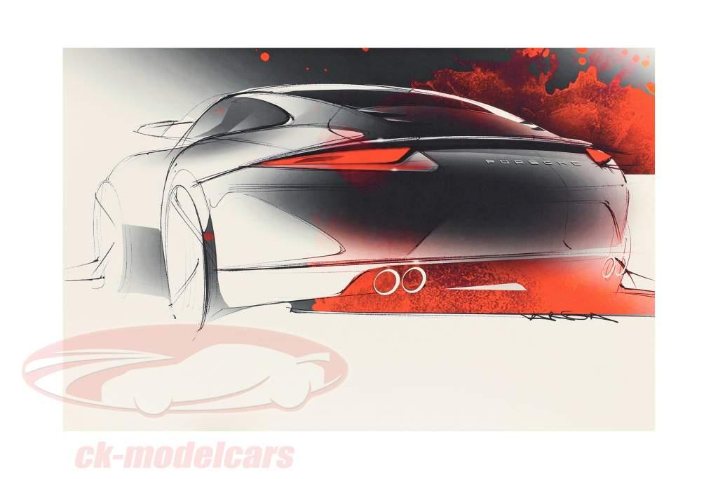 Libro: Bocetos de diseño 911 desde Michael Mauer
