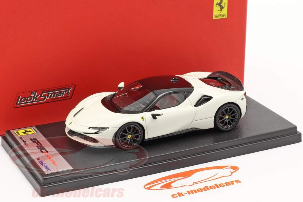 Ferrari SF90 Stradale Année de construction 2019 avus blanc / noir 1:43 LookSmart