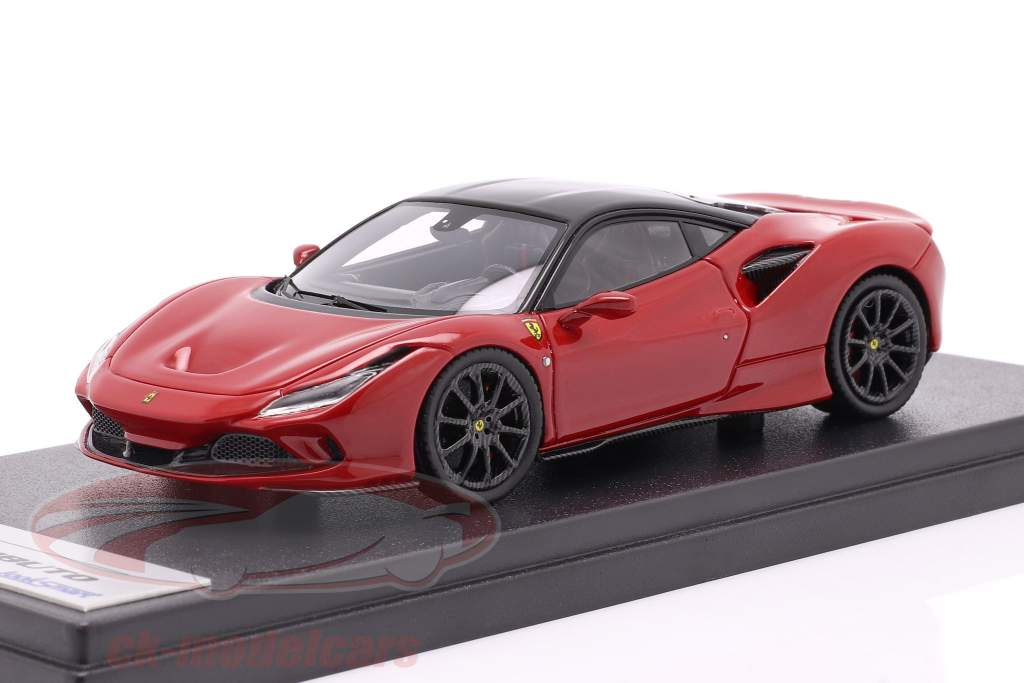 Ferrari F8 Tributo Ano de construção 2019 corsa vermelho metálico / Preto 1:43 LookSmart