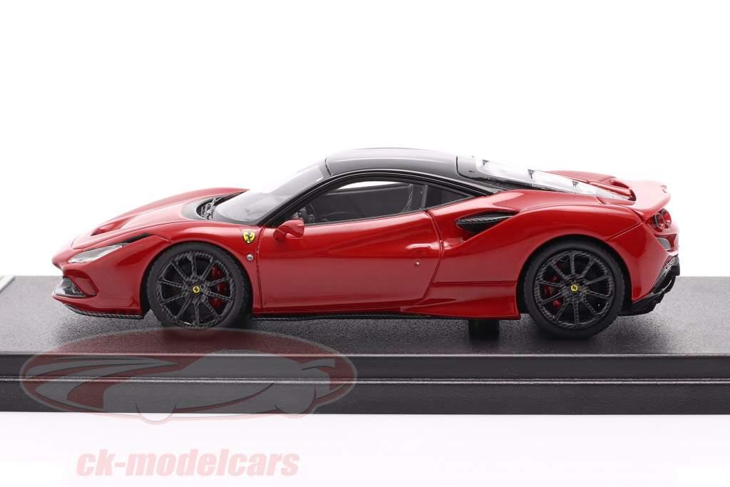 Ferrari F8 Tributo Anno di costruzione 2019 corsa rosso metallico / nero 1:43 LookSmart