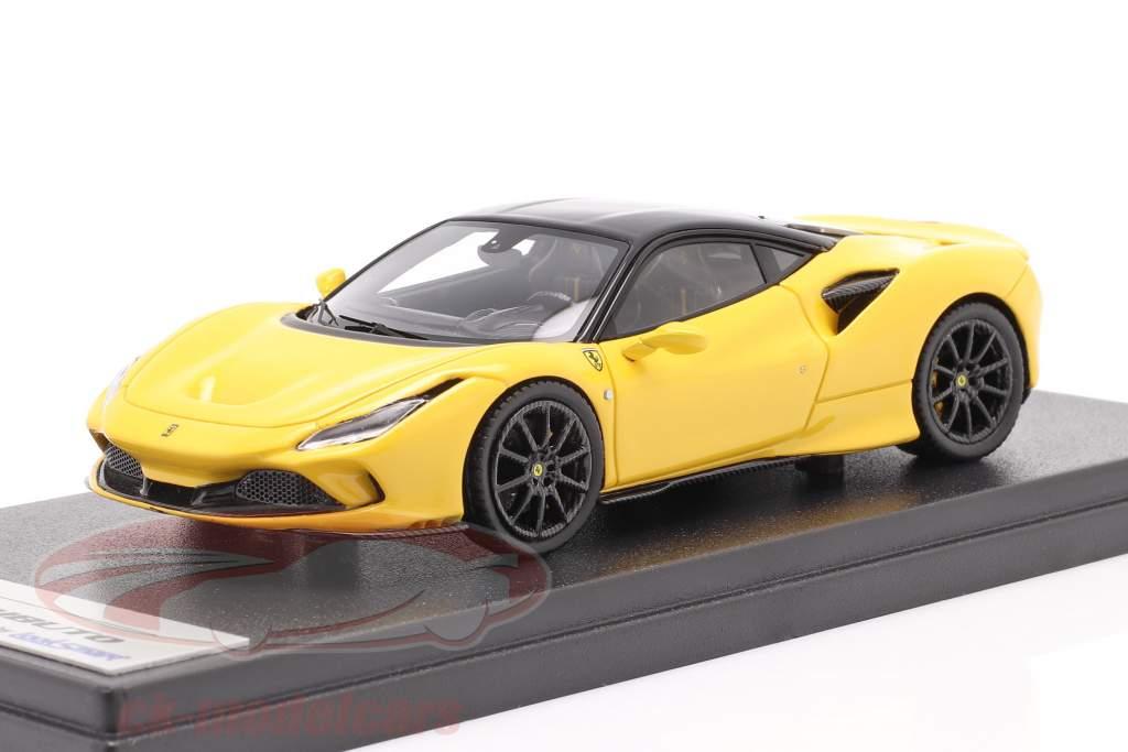 Ferrari F8 Tributo year 2019 modena yellow / black 1:43 LookSmart